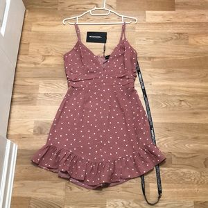Pink PrettyLittleThings Dress